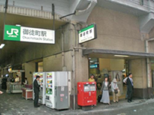 JR御徒町駅